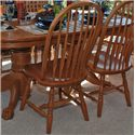 Oakwood Industries Casual Dining Bent Back Side Chair - Item Number: 211