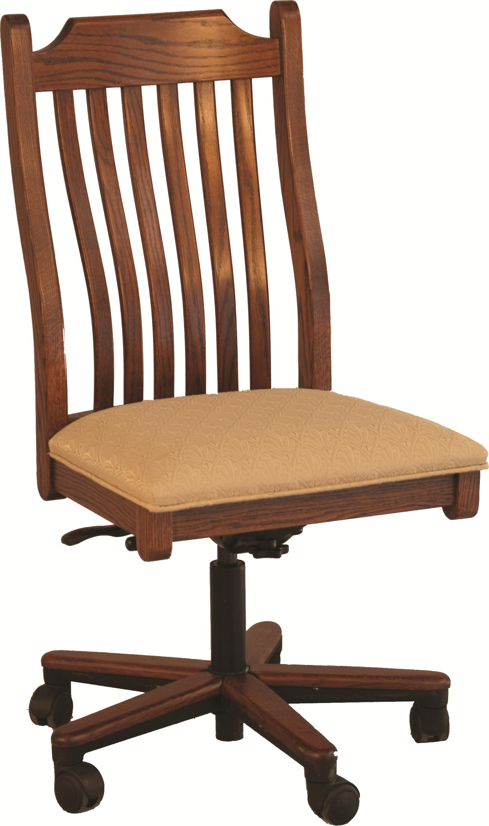 Mission Gas Lift Side Chair