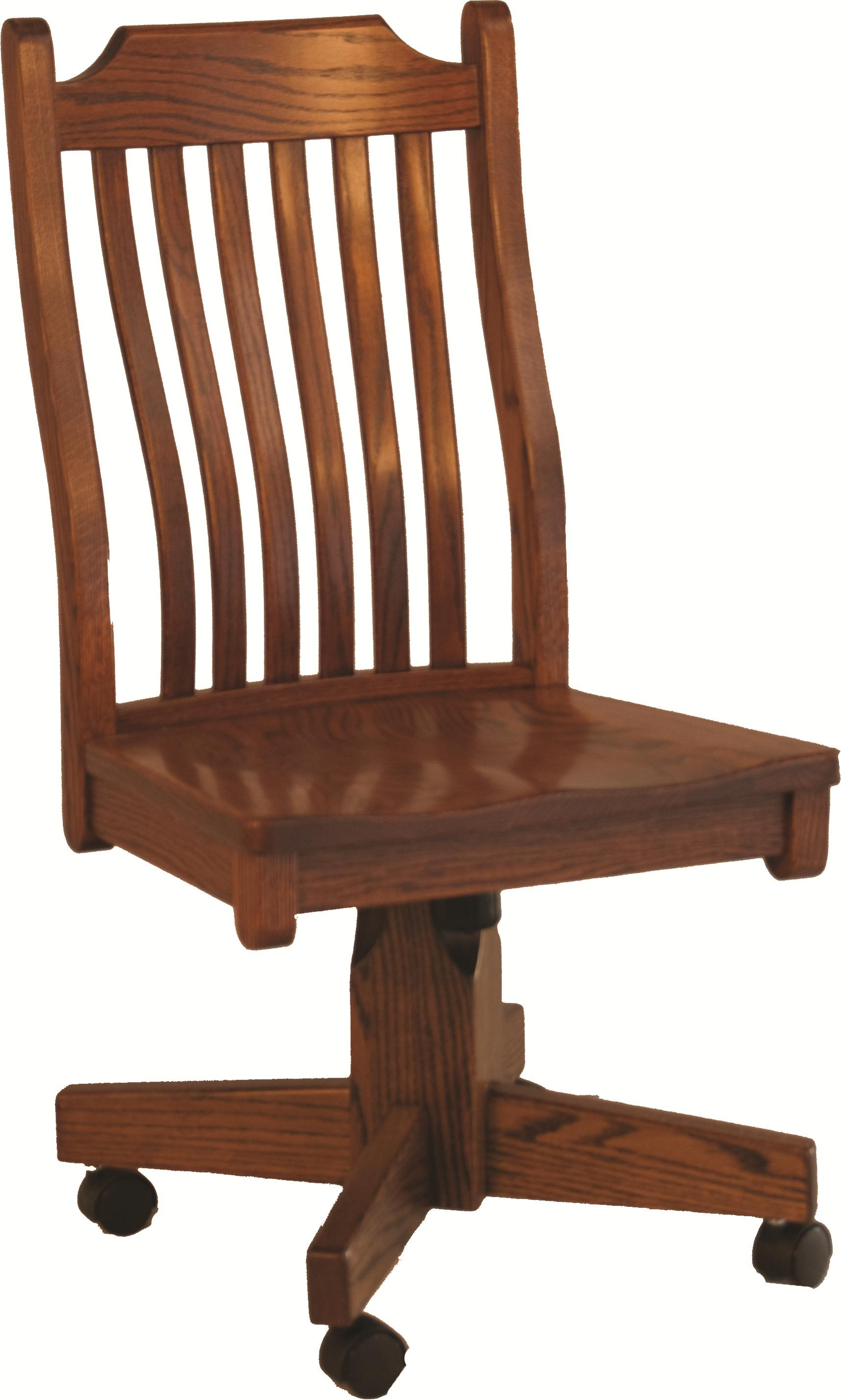 Mission Roller Side Chair