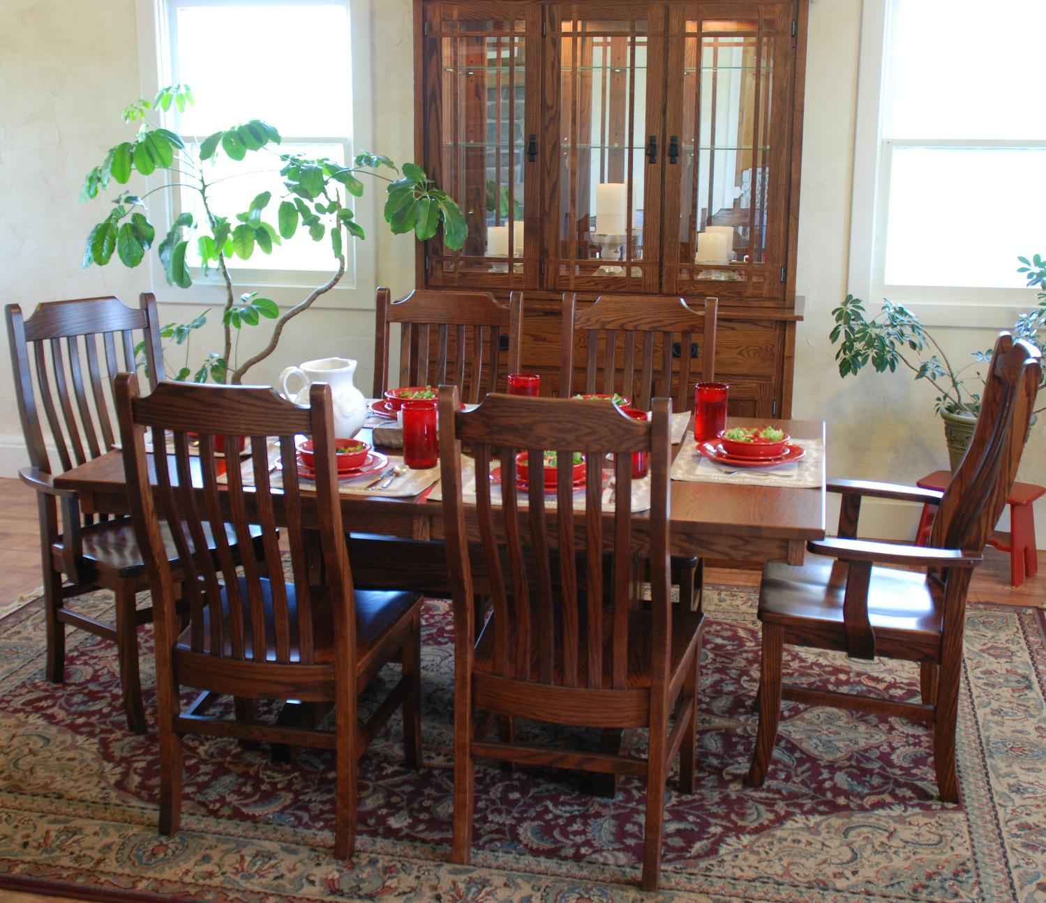 Oakwood Industries Furniture ~ Oakwood industries casual dining mission side chair