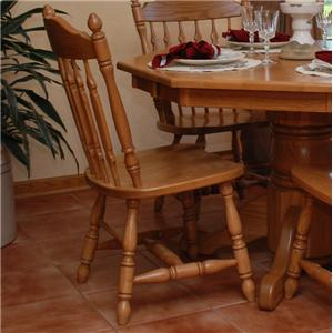 Oakwood Industries Casual Dining Royal Side Chair