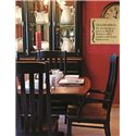 Oakwood Industries Casual Dining Contour Dining Side Chairs - Transitional Style is Sure to Provide both a Modern and Traditional Touch