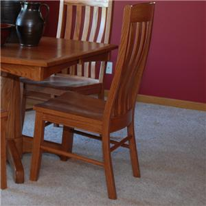 Oakwood Industries Casual Dining Contour Side Chairs
