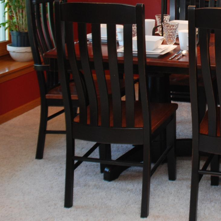 Oakwood Industries Casual Dining Contour Dining Side