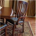 Oakwood Industries Casual Dining Contour Arm Chair - Item Number: 222L