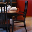 Oakwood Industries Casual Dining Contour Arm Chair - Item Number: 222WB