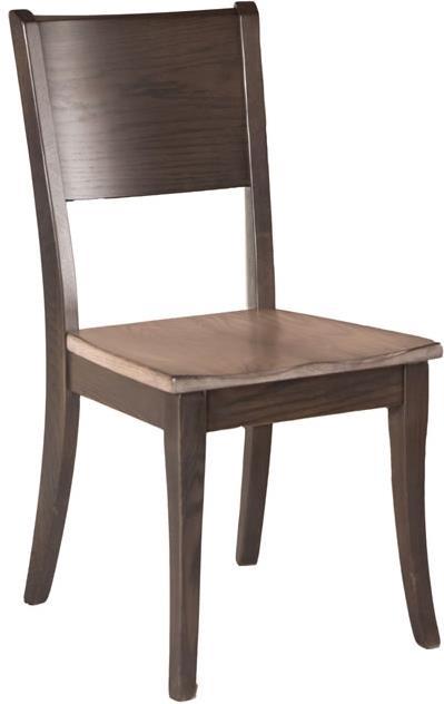 Oakwood Industries Furniture ~ Oakwood industries casual dining sonata side chair with