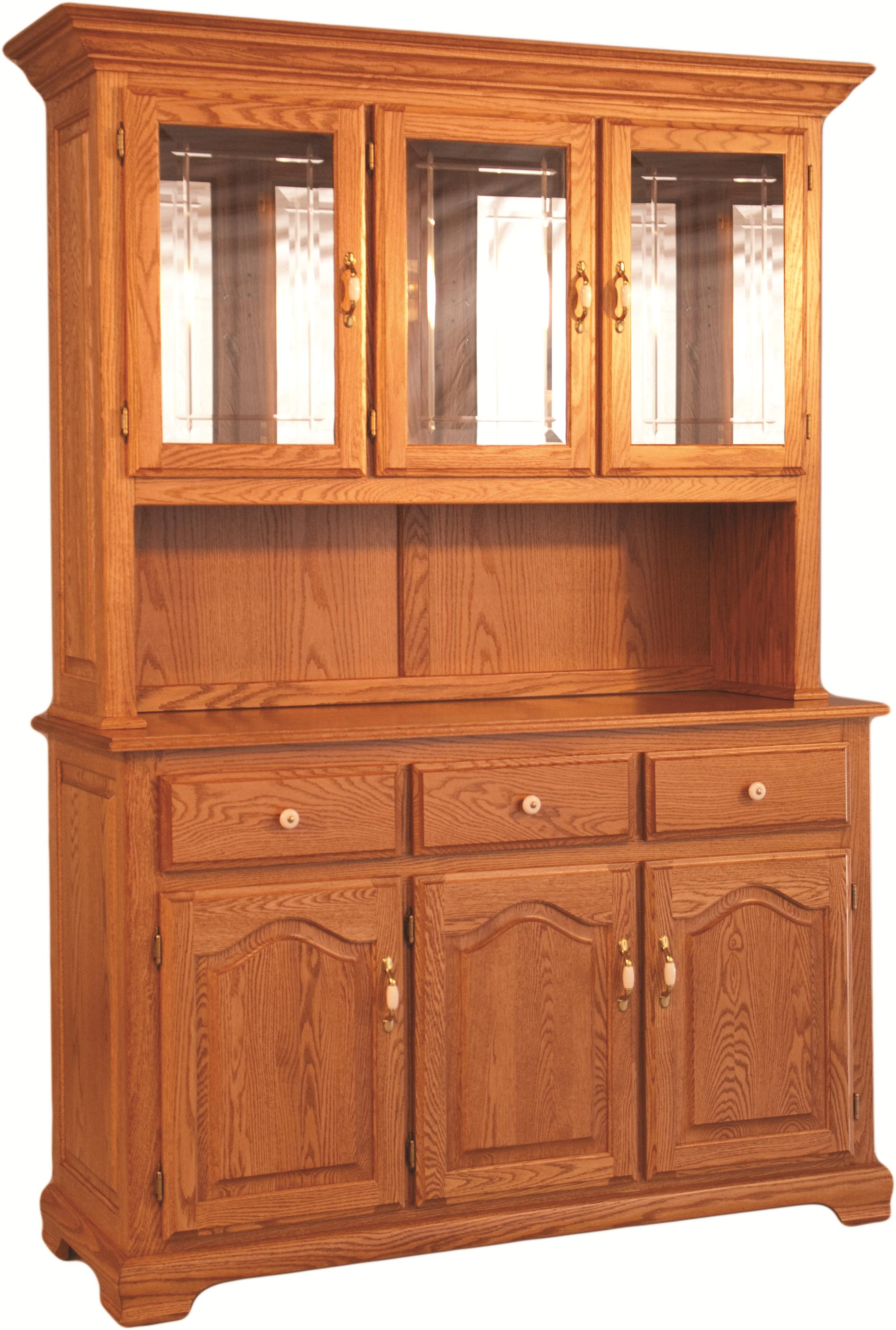 Homestead China Hutch and Buffet