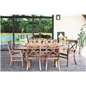 Oakwood Industries Tuscany 7-pc Dining Set - Item Number: 105Set