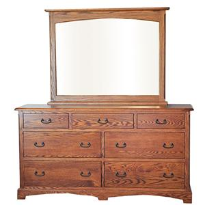 Oakwood Industries Westbrook Dresser and Mirror Combo