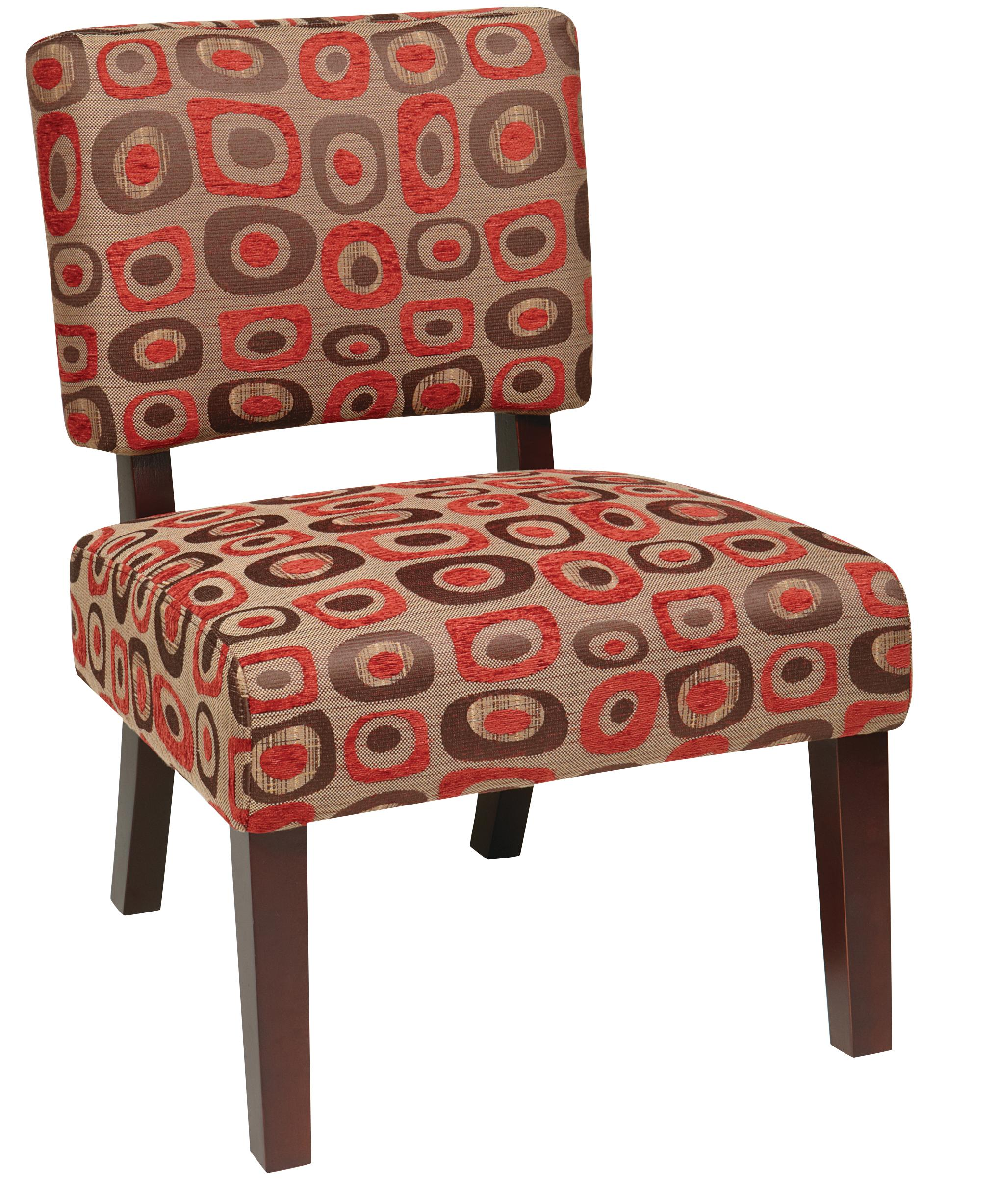 Accent Chairs Jasmine Accent Chair at Sadler's Home Furnishings