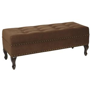 Victoria Tufted Bench