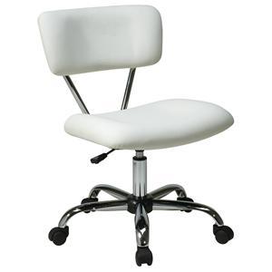 Office Star Vista OS Avenue Six Vinyl Task Office Chair