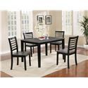 Offshore Furniture Source Dining Group 5 Piece Dining Set - Item Number: 410350110