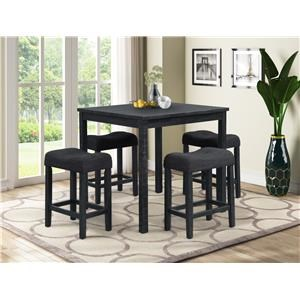 Counterheight Table and 4 Stools