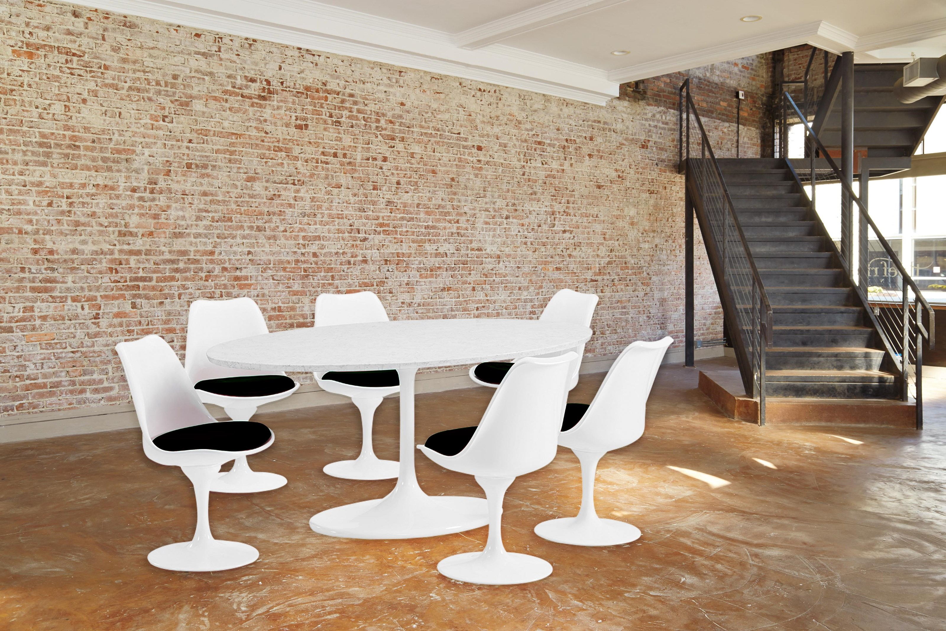 7 Piece Dining Group in Black