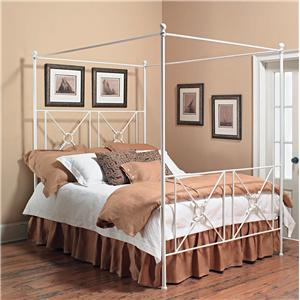 Old Biscayne Designs Custom Design Iron and Metal Beds Toledo Canopy Bed