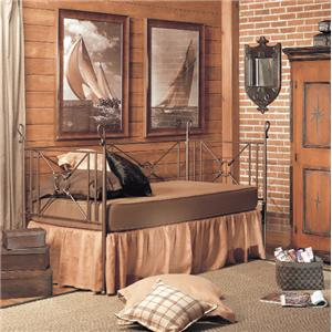 Old Biscayne Designs Custom Design Iron and Metal Beds Toledo Daybed