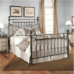 Old Biscayne Designs Custom Design Iron and Metal Beds Ayr Metal Bed