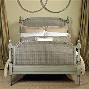 Chantilly Carved Wood Bed