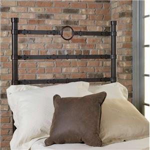 Old Biscayne Designs Custom Design Iron and Metal Beds Comanche Twin Headboard