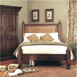 Cullen Carved Wood Bed