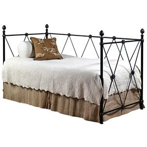 Old Biscayne Designs Custom Design Iron and Metal Beds Diamante Metal Daybed