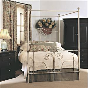 Old Biscayne Designs Custom Design Iron and Metal Beds Geneva Canopy Bed