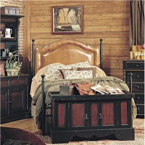 Old Biscayne Designs Custom Design Iron and Metal Beds Georgie Metal Bed