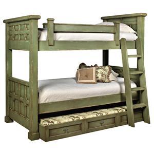 Old Biscayne Designs Custom Design Solid Wood Beds Kristina Bunk Bed