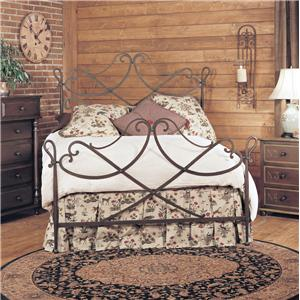 Old Biscayne Designs Custom Design Iron and Metal Beds Nadia Metal Bed