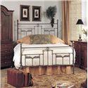 Old Biscayne Designs Custom Design Iron and Metal Beds Natura Metal Bed - Item Number: Natura