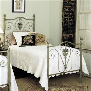Old Biscayne Designs Custom Design Iron and Metal Beds Nicole Twin Bed