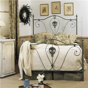 Old Biscayne Designs Custom Design Iron and Metal Beds Nicole Metal Bed