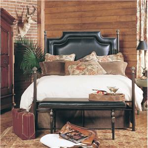 Old Biscayne Designs Custom Design Iron and Metal Beds Paloma Metal Bed