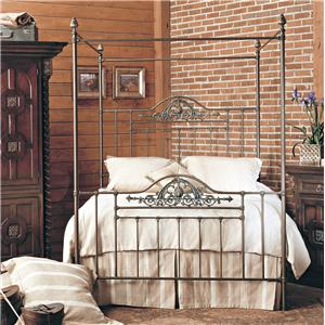 Old Biscayne Designs Custom Design Iron and Metal Beds Saenz Canopy Bed