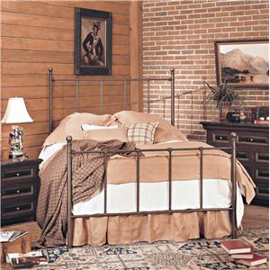 Old Biscayne Designs Custom Design Iron and Metal Beds Suzanne Metal Bed