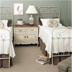 Old Biscayne Designs Custom Design Iron and Metal Beds Tearcey Twin Bed