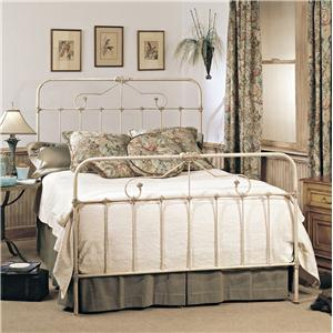 Old Biscayne Designs Custom Design Iron and Metal Beds Tearcey Metal Bed