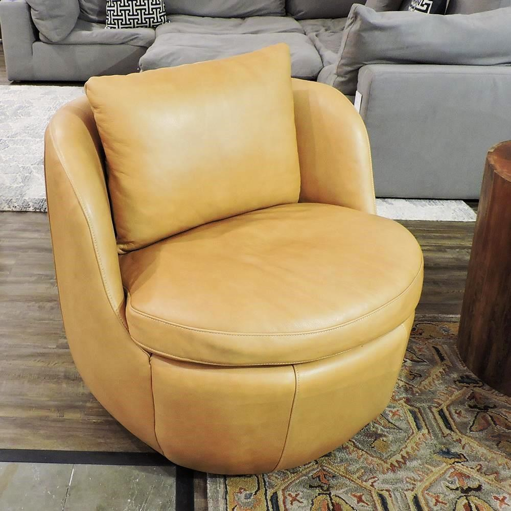 Flora Swivel Chair by Olivia & Quinn at Belfort Furniture