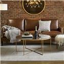 Olivia & Quinn Jane Leather Sofa - Item Number: 2051