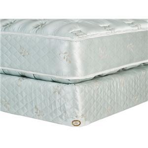 Omaha Bedding Omaha Bedding King Legacy Plush Mattress and Box Spring