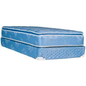 Omaha Bedding Omaha Bedding Queen Slumberon Maxima Pillow Top Mattress and Box Spring