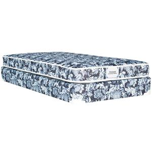 Omaha Bedding Omaha Bedding Twin Pennant Mattress and Box Spring