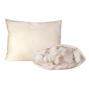 Organic Mattresses, Inc. (OMI) OMI Wool Pillows King Med Fill Certified Organic Wool Pillow
