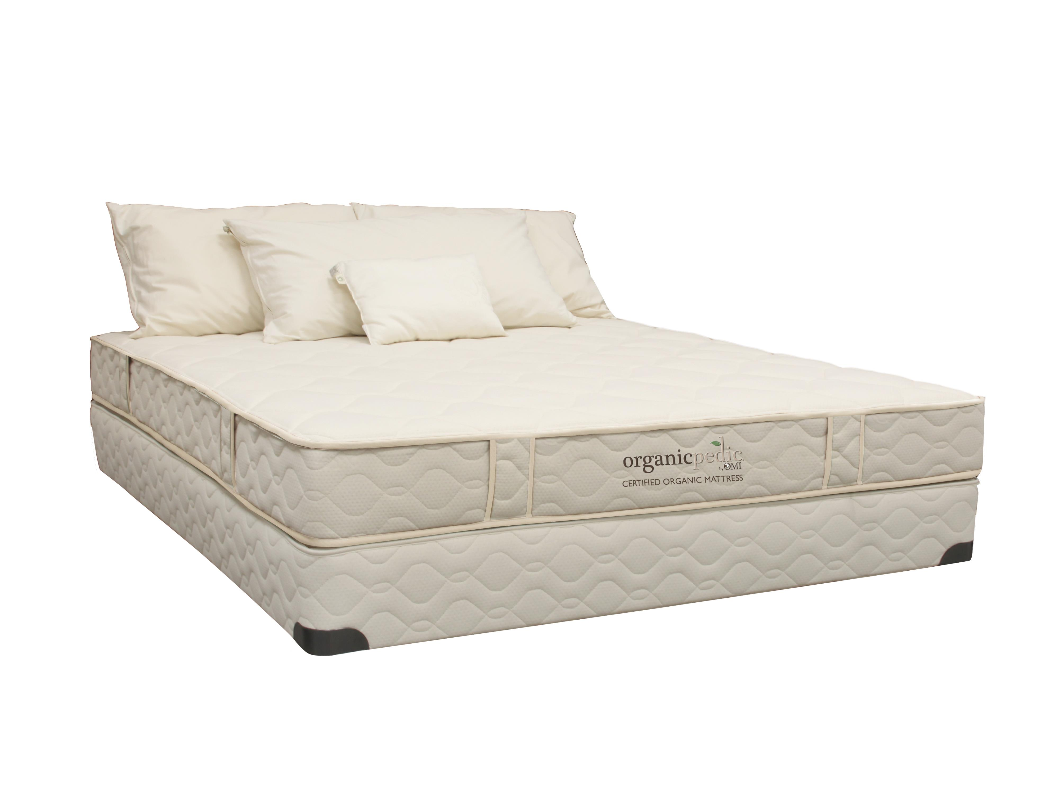 "Organic Mattresses, Inc. (OMI) OrganicPedic Cascade King 7.5"" Latex Mattress - Item Number: 66CASCADEO-2N"
