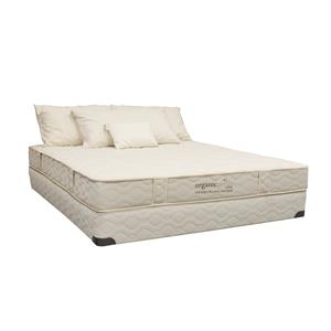 "Organic Mattresses, Inc. (OMI) OrganicPedic Cascade Queen 7.5"" Latex Mattress Set"