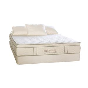 "Organic Mattresses, Inc. (OMI) OrganicPedic Duo Queen 10"" Customizable Mattress Set"