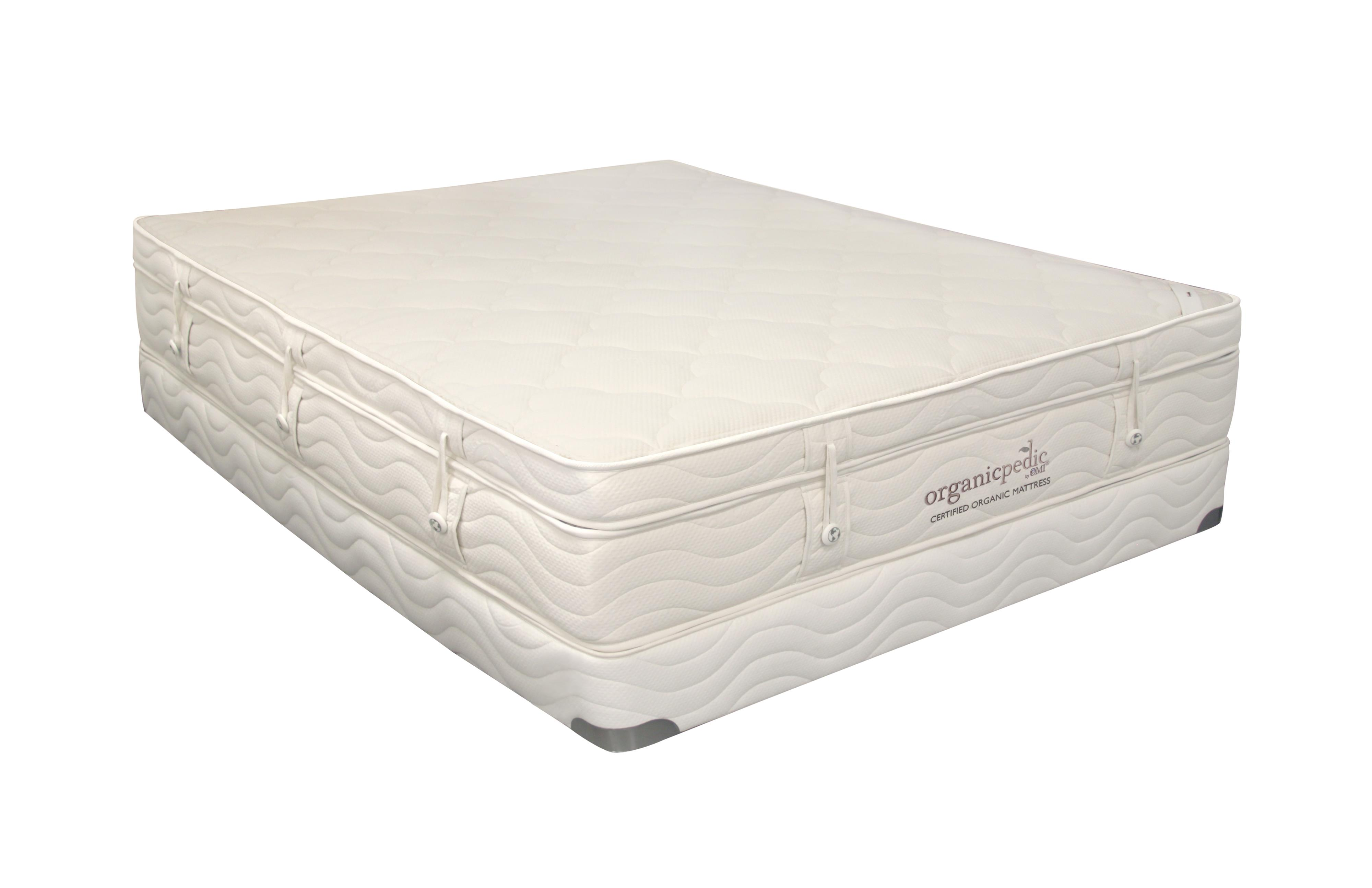 "Organic Mattresses, Inc. (OMI) OrganicPedic Earth Pinnacle Full 13"" XPlush PT Latex Mattress - Item Number: 46-PINNACLE-2C9"