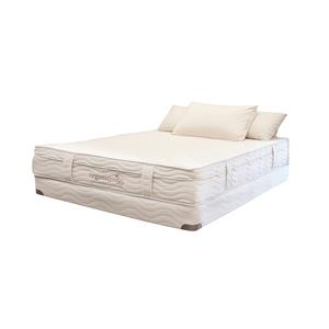 "Organic Mattresses, Inc. (OMI) OrganicPedic Lago Nouveau Queen 10.5"" Two Sided Latex Mattress Set"
